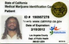 cali medical card